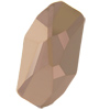 Swarovski 4773 Meteor Fancy Stone Crystal Rose Gold 14x7.5mm