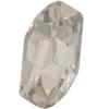 Swarovski 4773 Meteor Fancy Stone Crystal Silver Shade 14x7.5mm