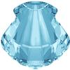 Swarovski 4789 Shell Fancy Stone Aquamarine 14mm
