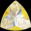 Swarovski 4799 Kaleidoscope Triangle Fancy Stone Crystal Sunshine DeLite 14x14.3mm