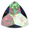 Swarovski 4799 Kaleidoscope Triangle Fancy Stone Crystal Vitrail Medium 14x14.3mm