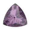 Swarovski 4799 Kaleidoscope Triangle Fancy Stone Amethyst 14x14.3mm