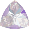 Swarovski 4799 Kaleidoscope Triangle Fancy Stone Crystal Lavender DeLite 14x14.3mm