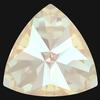 Swarovski 4799 Kaleidoscope Triangle Fancy Stone Crystal Ivory Cream DeLite 6x6.1mm