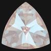 Swarovski 4799 Kaleidoscope Triangle Fancy Stone Crystal Dusty Pink DeLite 6x6.1mm