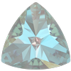 Swarovski 4799 Kaleidoscope Triangle Fancy Stone Crystal Serene Gray DeLite 6x6.1mm
