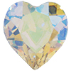 Swarovski 4800 Heart Fancy Stone Crystal AB 8.8x8mm