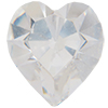 Swarovski 4800 Heart Fancy Stone Crystal (Unfoiled) 11x10mm