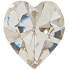 Swarovski 4800 Heart Fancy Stone Crystal 6.6x6mm