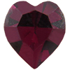 Swarovski 4800 Heart Fancy Stone Garnet 6.6x6mm