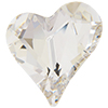 Swarovski 4809 Sweet Heart Fancy Stone Crystal 27x25mm