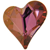 Swarovski 4809 Sweet Heart Fancy Stone Crystal Lilac Shadow 17x15.5mm