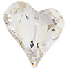 Swarovski 4810 Sweet Heart Fancy Stone Crystal 13x12mm