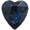 Swarovski 4813 Heart Fancy Stone Montana 6.5x6mm