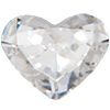 Swarovski 4822 Heart Fancy Stone Crystal 8x6.3mm