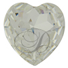Swarovski 4827 Large Heart Shaped Fancy Stone Crystal 28mm
