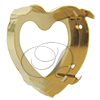 Sew on Setting for 4827 28 mm Heart Fancy Rhinestone (Brooch Rhinestone)