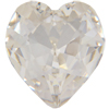 Swarovski 4831/3 Setting for 4831, Antique Heart Fancy Stone Crystal 6.5x6mm
