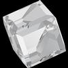 Swarovski 4841 Cut Corner Cube Fancy Stone Crystal Comet Argent Light (CAL VZ) 8mm