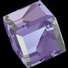 Swarovski 4841 Cut Corner Cube Fancy Stone Crystal Vitrail Light (VZ) 6mm