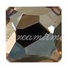 Swarovski 4854 Space Cut Fancy Stone Crystal Golden Shadow Comet Argent Light V 10mm