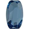 Swarovski 4855 Organic Oval Fancy Stone Aquamarine 10x6mm
