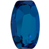 Swarovski 4855 Organic Oval Fancy Stone Crystal Bermuda Blue 8x5mm