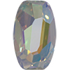 Swarovski 4855 Organic Oval Fancy Stone Crystal AB 10x6mm