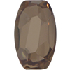 Swarovski 4855 Organic Oval Fancy Stone Crystal Golden Shadow 10x6mm