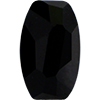 Swarovski 4855 Organic Oval Fancy Stone Jet 8x5mm