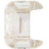 Swarovski 4889 Letter Shaped Fancy Stone Crystal (Letter C) 8mm