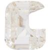 Swarovski 4889 Lette Shaped Fancy Stone Crystal (Letter G) 8mm