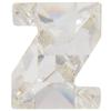 Swarovski 4889 Letter Shaped Fancy Stone Crystal (Letter Z) 8mm