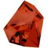 Swarovski 4923 Kaputt Fancy Stone Crystal Red Magma 38x33mm