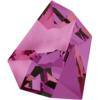 Swarovski 4923 Kaputt Fancy Stone Crystal Volcano 28x24mm