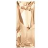 Swarovski 4925 Kaputt Baquette Fancy Stone Crystal Golden Shadow 29x11.5mm