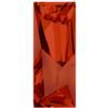 Swarovski 4925 Kaputt Baquette Fancy Stone Crystal Red Magma 29x11.5mm