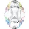 Swarovski 4926 Oval Tribe Fancy Stone Crystal AB 14x10mm