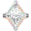 Swarovski 4927 Rhombus Tribe Fancy Stone Crystal AB 19x17mm