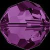 Dreamtime Crystal DC 5000 Round Bead Amethyst 4mm