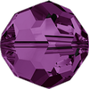Dreamtime Crystal DC 5000 Beads Round 2mm Amethyst