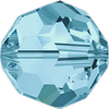 Dreamtime Crystal DC 5000 Beads Round Aquamarine 2mm