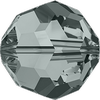 Dreamtime Crystal DC 5000 Round Bead Black Diamond 8mm