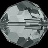 Dreamtime Crystal DC 5000 Round Bead Black Diamond 4mm