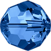 Dreamtime Crystal DC 5000 Beads Round Capri Blue 8mm