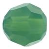 Swarovski 5000 Round Bead Palace Green Opal 4mm