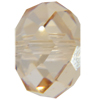 Swarovski 5040 Briolette Bead Crystal Golden Shadow 4mm