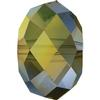 Swarovski 5040 Briolette Bead Crystal Iridescent Green 4mm