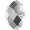 Swarovski 5040 Briolette Bead Crystal Light Chrome 8mm