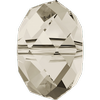 Dreamtime Crystal DC 5040 Briolette Bead Crystal Silver Shade 4mm